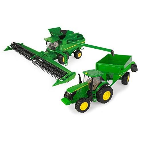 John Deere 1/32 Combine Harvesting Set