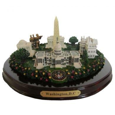 Washington, D.C. Monuments Desk Statue - 8