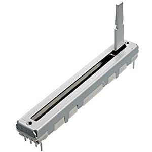 ALPS 10K lineal Potenciómetro deslizante RS45112 stereo Lineal Recorrido de desplazamiento 45 mm Fader