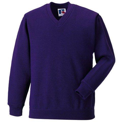 Russell Athletic V-Neck Sweatshirt - 5