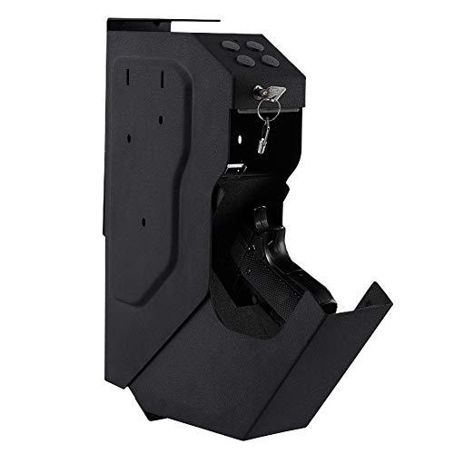INTERGREAT Mounted Gun Vault Pistol Safe Quick Access Handgun Safe