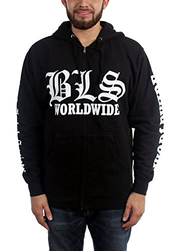 - Mens Worldwide Hoodie, Size: Small, Color: Black (Black Label Society Hoodies)