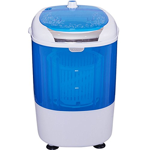 5.5lbs Portable Mini Counter Top Washing Machine Spin basket Laundry Washer Perfect