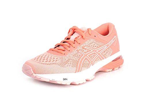 ASICS Damen GT-1000 6 Laufschuh Seashell Pink / Begonie Pink / Weiß