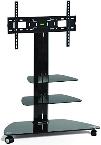 Cantilever Tv Stand Corner Tv Stand For 37 Inch To 55 Amazon Co Uk Electronics
