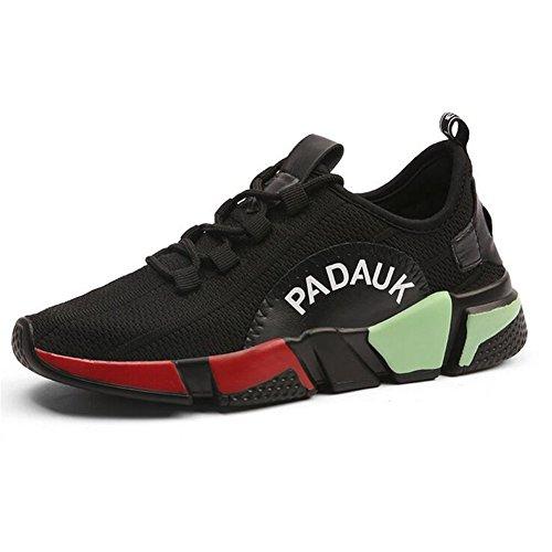 Zapatos de Mujer Zapatos Unisex Net Tulle Spring Fall Comfort Light Up Zapatos, Zapatillas de Deporte, Zapatos para Caminar, con Cordones en el bajo talón Un