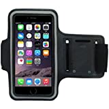 CoverKingz Apple iPhone 7 Plus - iPhone 8 Plus Sportarmband Fitness Hülle Jogging-Armband Lauf-Tasche Running-Case schwarz gym