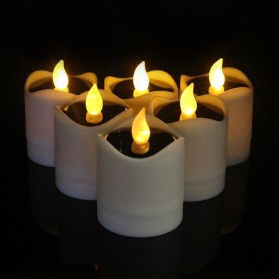 Flicker Candle Solar Lights