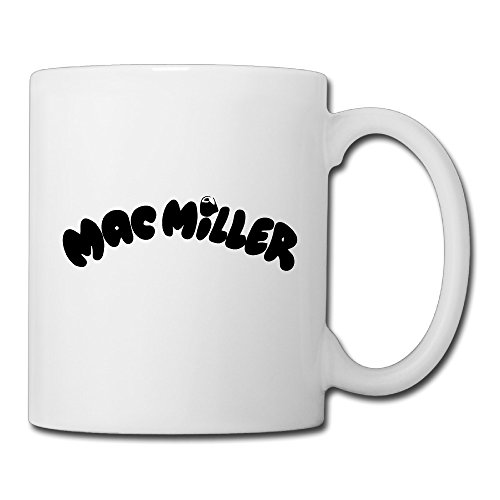 Christina Mac Miller Most Dope Logo Ceramic Coffee Mug Tea Cup - Glasses Miller Mac