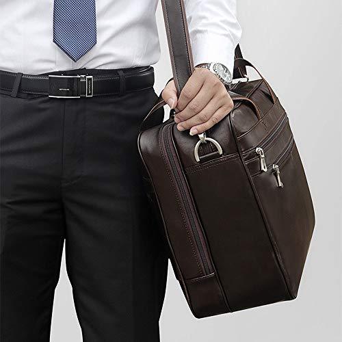 Sac Mallettes Business Téléphone Porte Bag Hommes Casual Bandoulière À documents Cuir Por Pouces 17 Portable Messenger Pour Ordinateur rdrAqnYa