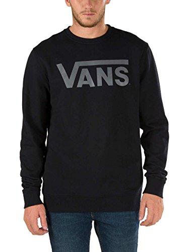 Vans Vans Classic Crew - Sudadera para hombre Negro
