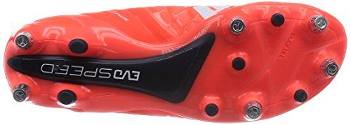 Puma evoSPEED 1.4 Mixed SG - zapatillas de fútbol de material sintético hombre naranja - Orange (lava blast-white-total eclipse 01)