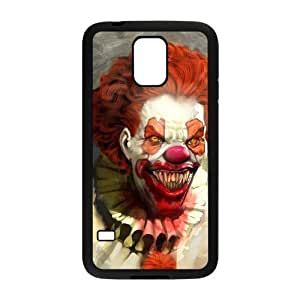 Stylish Circus Design Plastic Cover for Samsung Galaxy S5