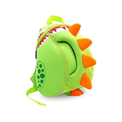 Coavas Kids Backpack Toddler Backpacks Dinosaur Backpack Children Backpack - Funny Dinosaur Cute Green(11.89.35.5 inch) - Gift For Toddlers and Children 1-6 years old Girls