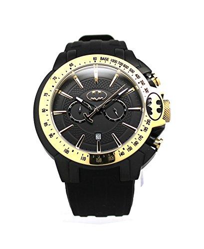 """DC+Comics+Watch Products : Batman """"Justice"""" Gold Mens Sport Watch (BAT8086)"""