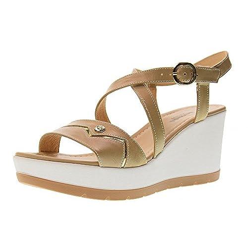 Giardini Sandalias De Mujeres Zapatos 85Off Nero Las Cuña OwPkX8Nn0Z