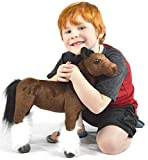 VIAHART Charmaine The Shire Horse | 18 Inch Large Shire Horse Stuffed Animal Plush Pony | by Tiger Tale Toys