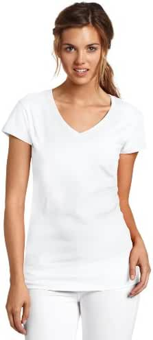 Dickies Juniors' Solid Cap-Sleeve V-Neck T-Shirt