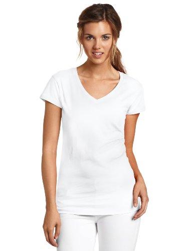 Dickies Juniors Cap Sleeve V Neck T Shirt