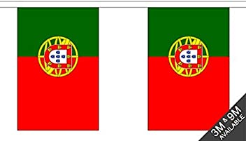 Portugal Bunting (30 Flags) 9m