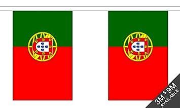 The Flag B039534 Wholesaler - Banderines de Portugal, multicolor, 24 x 1 x 23