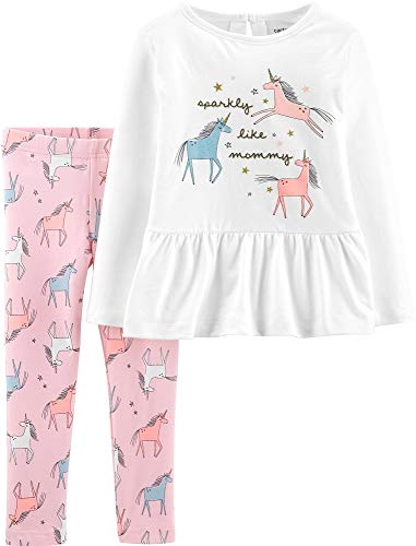 Pink Sparkly Leggings - Carter's Baby Girls Sparkly Like Mommy