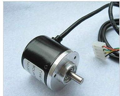 1pc Encoder 400P//R Incremental Rotary Encoder 400p//r AB Phase Encoder 6mm Shaf New