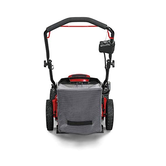 Snapper HD 48V MAX Cordless Electric 20-Inch Lawn Mower Kit with (1) 5.0 Battery and (1) Rapid Charger 6 Up to 90 minutes of run time with 5. 0 Battery under light loads** 3-in-1 mulch/bag/side-discharge options on 20-inch steel deck Intelligent load sensing technology - allows for optimum power levels while you mow for maximum efficiency