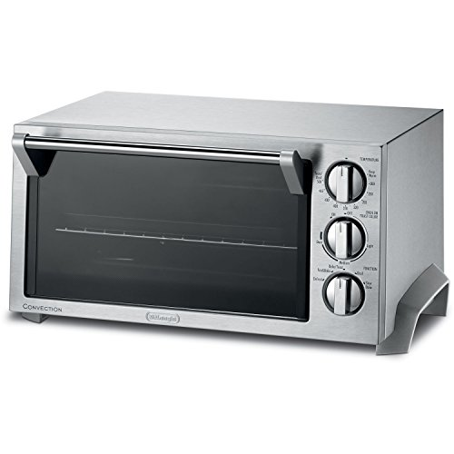 Delonghi 1400 Watt Convection Oven and Toaster Oven with Durastone II Enamel Interior and Convenient Timer (Delonghi Toaster Ovens compare prices)