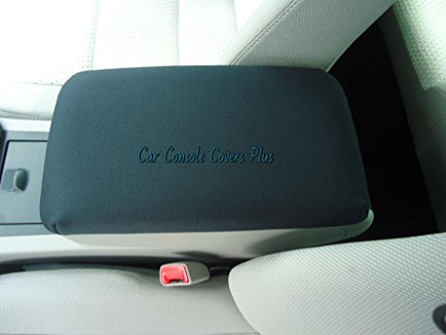Car Console Covers Plus Made in USA Neoprene Center Armrest Console Cover Designed to fit Honda Element Models 2007-2010 Black ()