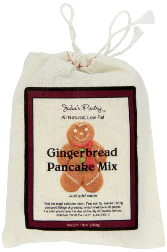 Julia's Pantry Ginger Bread Pancake Mix, 10 (Gingerbread Pancake)