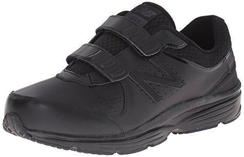 New Balance Mens 411 Hv2 Walking Shoe, Negro/Negro, 42 4E EU/8 4E UK