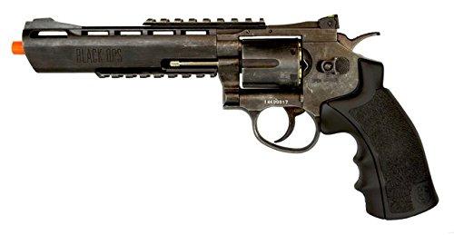 black ops exterminator full metal air revolver, 6 aged bb(Airsoft Gun)