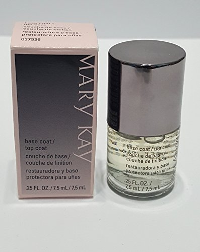 Mary Kay Base Coat Top Coat .25 Fl Oz (Kay Top Mary Coat)