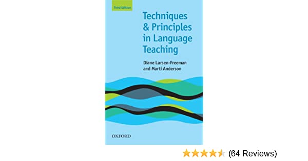 Techniques and principles in language teaching 3rd edition oxford techniques and principles in language teaching 3rd edition oxford handbooks for language teachers teaching techniques in english as a second language fandeluxe Images
