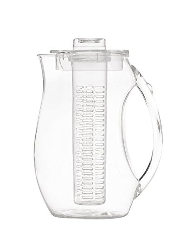 Perlli Tea and Fruit Infusion Pitcher With Ice Core Rod - 2.9 Quart ...
