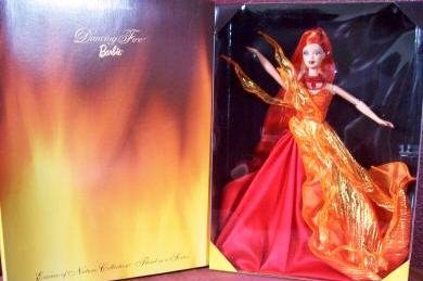 Barbie Essence of Nature Dancing Fire Doll [Limited Edition] (Barbie And The 12 Dancing Princesses Names)