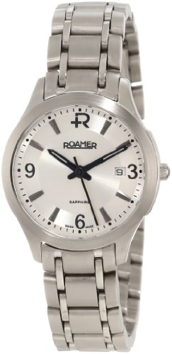 Roamer of Switzerland Women's 509978 41 15 50 Preview Black Dial Two-Tone Stainless Steel Watch