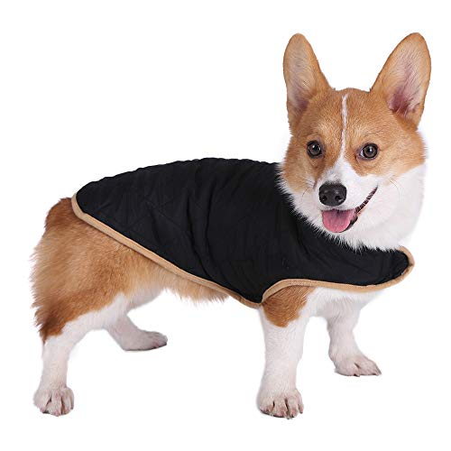 - JEMA Reversible Vest for Dogs Spring and Summer Dog Coat Jacket Comfortable and Breathable for Small Dogs, Medium Dogs and Large Dogs