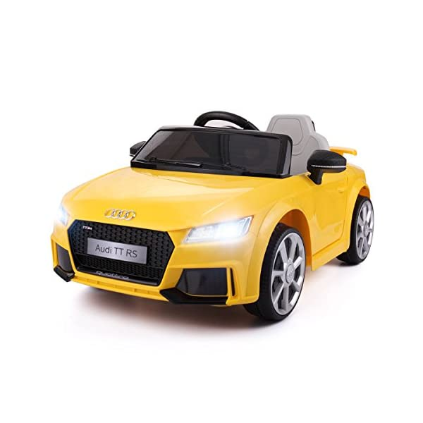 00935ce89ce0 JAXPETY Audi TT 12V Electric Kids Ride On Car Licensed MP3 LED Lights RC Remote  Control