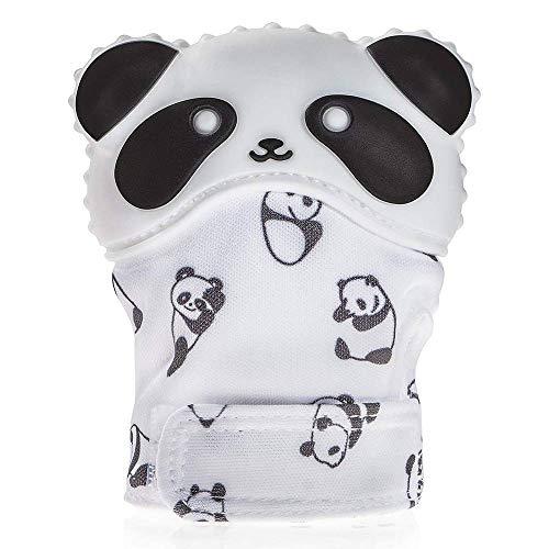 Jingjing Food Grade Silicone Molar Gloves Baby Teething Glove Panda Baby...