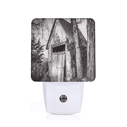 VANMASS Ruined Stranded Stone Barn Auto On/Off LED Night Light