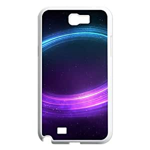 SamSung Galaxy Note2 7100 phone cases White Galaxy Space fashion cell phone cases UTRE3313317