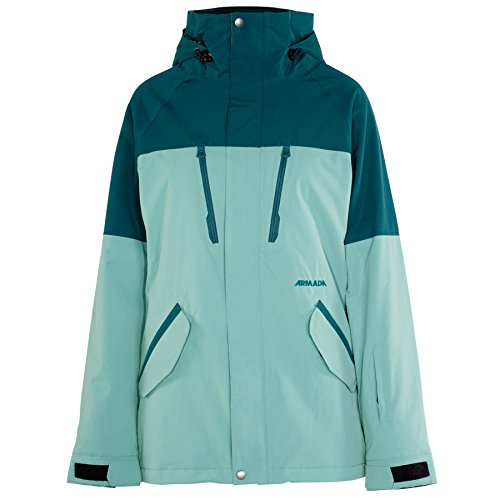Armada Stadium Insulated Jacket Women's Mineral (Insulated Stadium Jacket)
