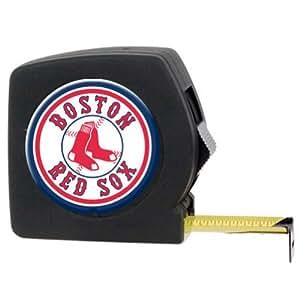 MLB Boston Red Sox 25' Black Tape Measure