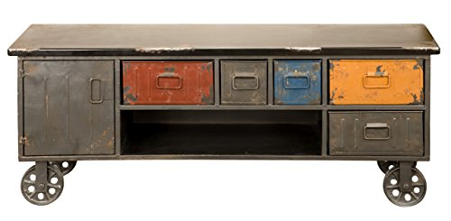 Moes Home Collection Paint Box Cabinet
