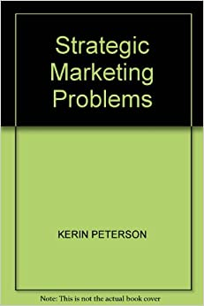 Book Strategic Marketing Problems