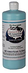 All American Car Care Products All American Armor - Water-based Silicone Silicone Dressing for Leather, Vinyl, Plastic, Rubber, and More (32 Ounces)