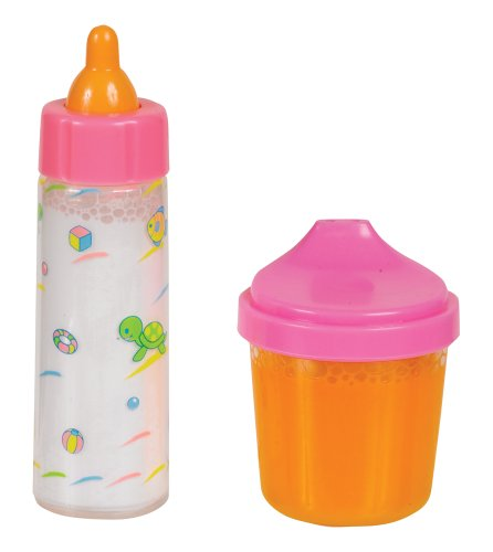 Small World Toys All About Baby Dolls - Bottle and Juice Cup (Doll