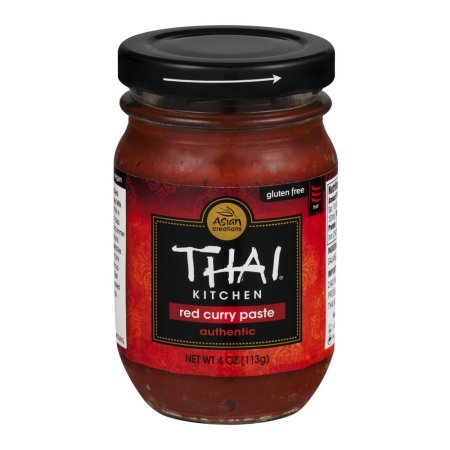 Thai Kitchen Red Curry Paste 4 oz (Pack of 2)